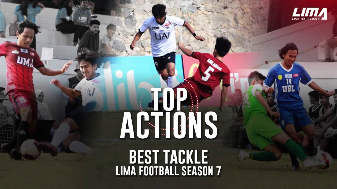 Top Actions - Best Tackle LIMA Football Season 7