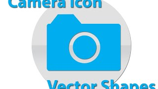 Learn how to make icon in Adobe Photoshop with vector shape