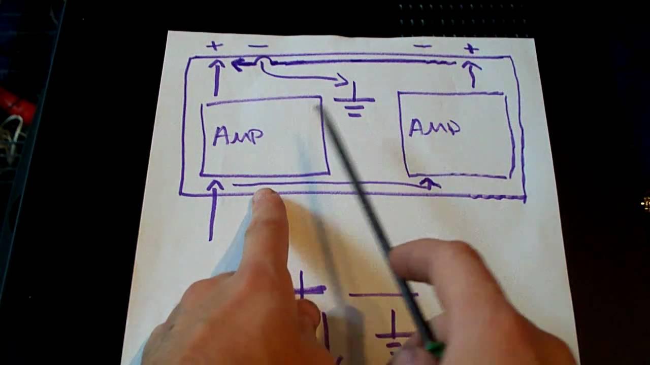 Alpine Wire Diagram How Bridgeable Amplifiers Work Bridge Parallel Mono