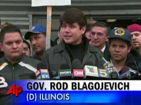 Illinois Governor Arrested on Federal Charges
