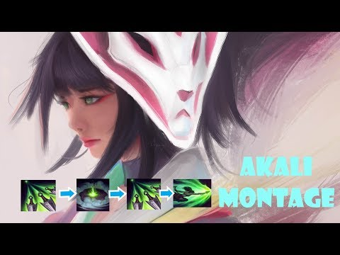 Akali Montage # Solo Q 2019 Fast combo
