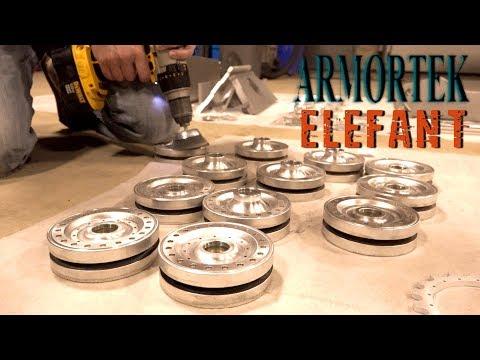 PREPARING the Aluminium - ALL METAL Armortek ELEFANT (FERDINAND) TANK DESTROYER PT 2   RC ADVENTURES
