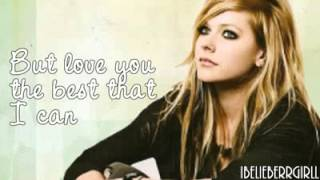 Avril Lavigne   Darlin' With Lyrics   YouTube