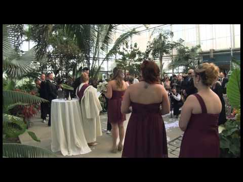Harrop/Raposa Wedding - Ceremony Multi Camera - Roger Williams Botanical Gardens Rhode Island