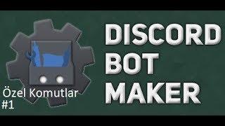 Basit Sohbet Mesajları Kayıt Altına Alma Komutu | Discord Bot Maker Özel Komutlar Komutları #1