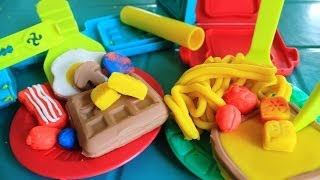 Play Doh Breakfast Time Playset Kids Toys