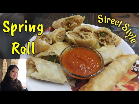 veg-spring-roll-recipe-|-vegetable-spring-rolls-with-homemade-sheets-|-स्प्रिंग-रोल-|-easy-snack