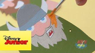 Art Attack: Barco vikingo