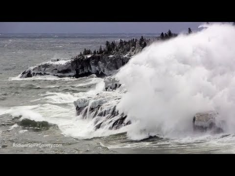 Algeria Tornado, USA Blizzards & Waves, Polar Ice Temps Recover (582)