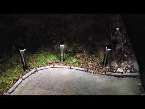 Thatwaythere Solar Lights Outdoor Waterproof Garden LED Light Set