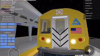 Roblox subway trains duck A Train