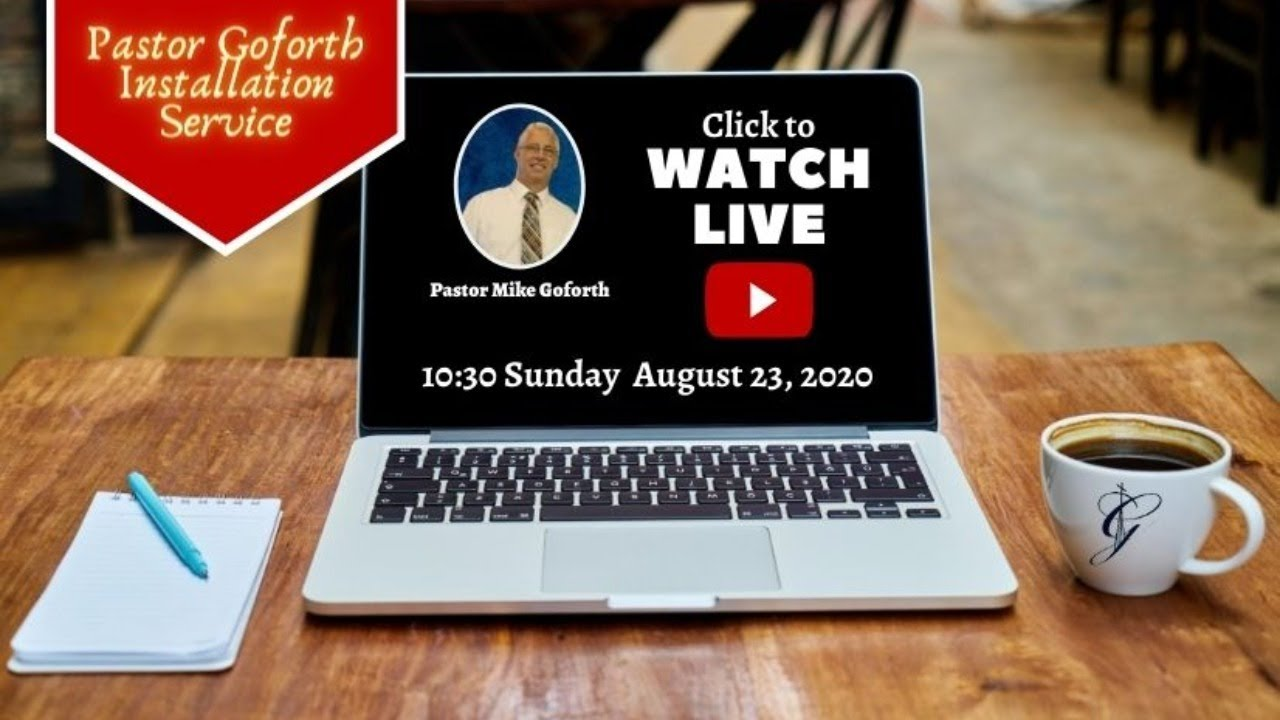 Goforth Christmas Concert West Columbia 2020 August 23, 2020 Pastor David Goforth Installation Service   YouTube