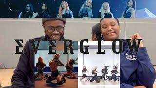 Gambar cover DANCER 1st Time Reacts to EVERGLOW DUN DUN Dance Practice and MV!!!