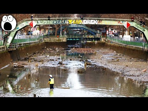 Top 10 Bizarre Discoveries Found in Drained Water Bodies