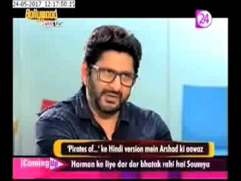 arshad warsi to voice johnny depp s dialogues in hindi pirates of