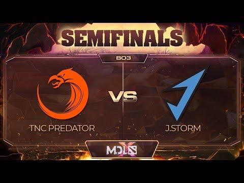 TNC Predator vs J.Storm vod