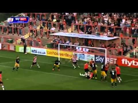 All League 2 Goals 6th, 7th & 8th Of September 2014