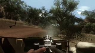 Far Cry 2 gameplay on ASUS GTS 450 DirectCU