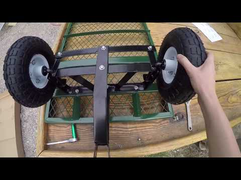 Cart - DIY - Putting Together a Harbor Freight Cart - Song