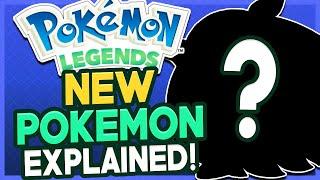 NEW Mystery Pokémon Explained! Pokémon Legends Arceus Trailer Analysis