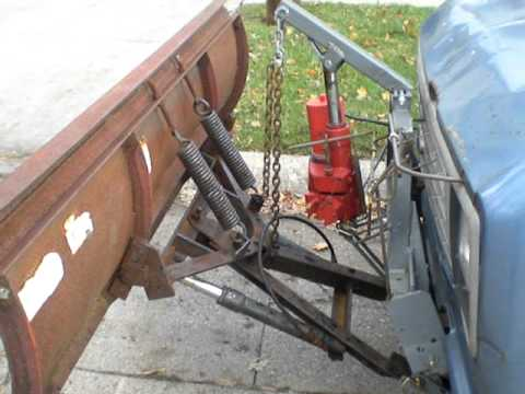 Cable operated Western plow, no cables  YouTube