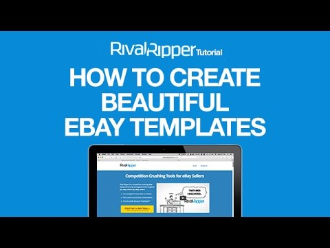 How To Build Beautiful EBay Templates