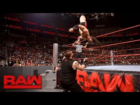 Neville vs. Kevin Owens: Raw, Aug. 22, 2016