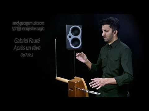 Gabriel Fauré - Après un rêve, Op.7 No.1 - Randy George, theremin