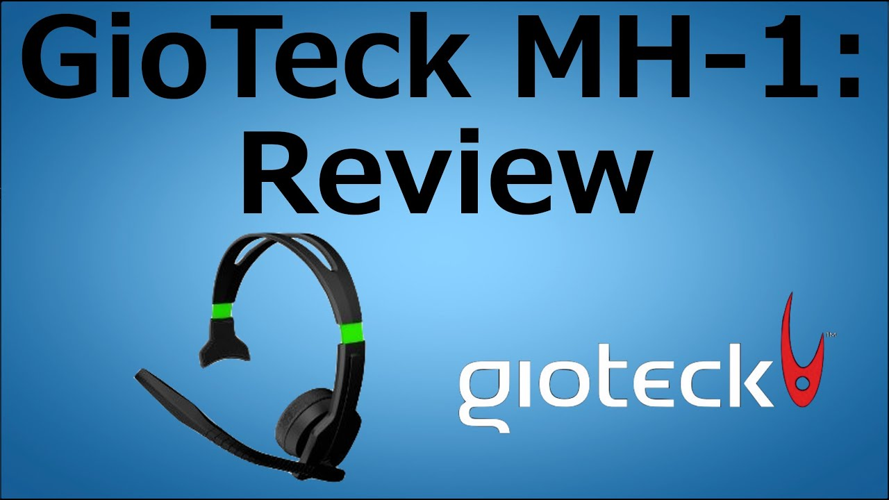 Gioteck MH-1 Xbox 360 Headset: Review - YouTube