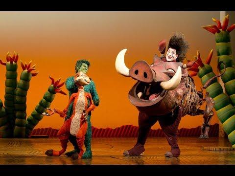 The Lion King Broadway Cast - Hakuna Matata (with lyrics!)