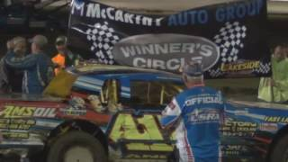 Lakeside Speedway Highlights 9/17/16
