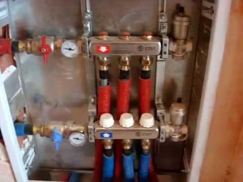 Как сделать коллекторное отопление в квартире. Установка радиаторов отоления.