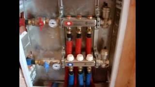 как сделать коллекторное отопление