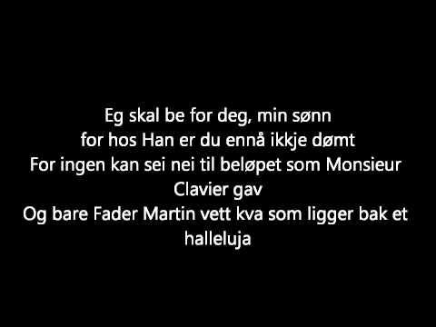 Kaizers Orchestra - Bak et halleluja [lyrics]