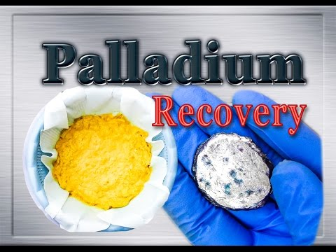 💠Palladium, Silver and Gold recovery from MLCC (Monolithic Ceramic Capacitors)💠PART-3