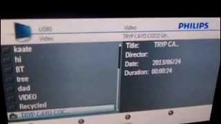PhilipsTV play AVI with USB