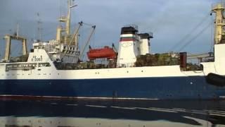 Большой рыболовный траулер БАТМ