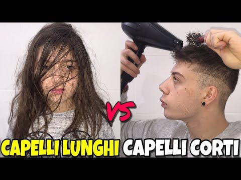 CAPELLI LUNGHI VS CAPELLI CORTI