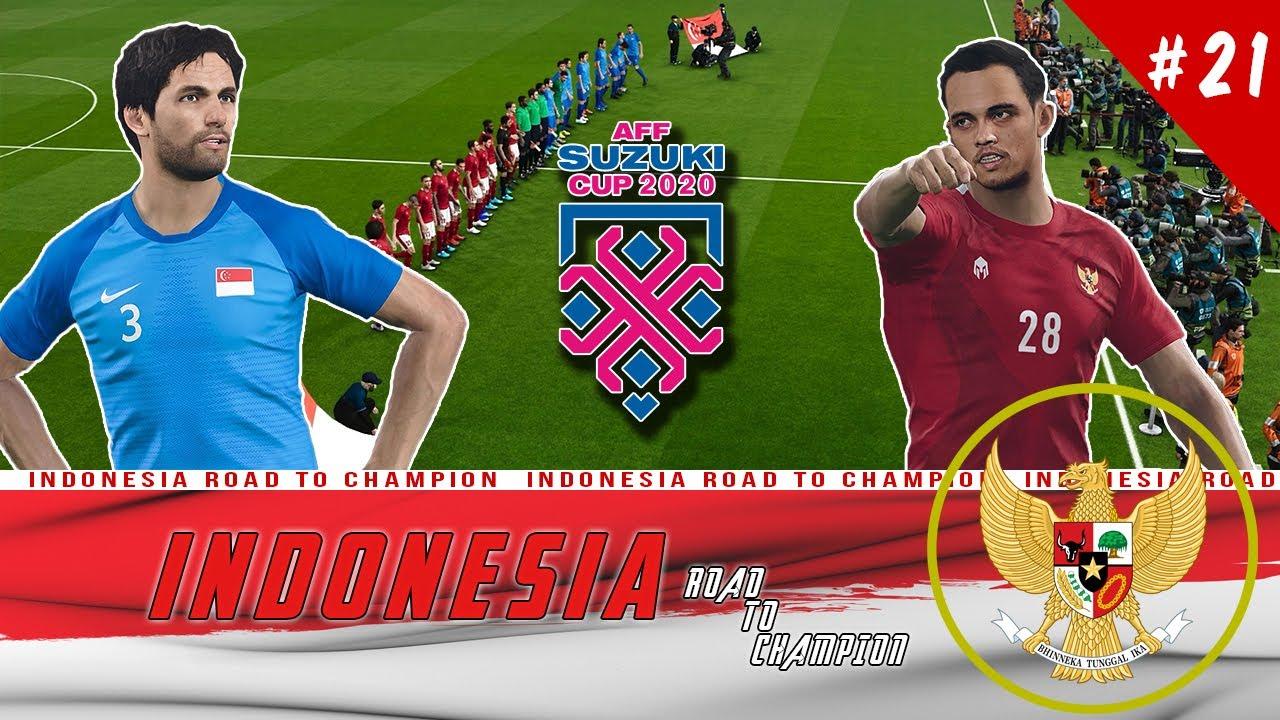 Final AFF Cup 2020 Indonesia vs Singapura, Siapa Juaranya?   PES 2020 Indonesia Road To Champion #21