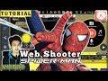 TUTORIAL Web Shooter SPIDERMAN KINEMASTER