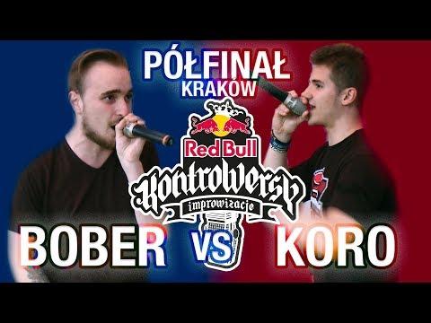 BOBER vs. KORO Półfinał - Eliminacje KRAKÓW 🎤 Red Bull KontroWersy 2018