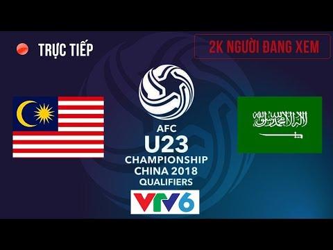 Live U23 Malaysia vs U23 Saudi Arabia | Group Stage 16.1.2018 | First Half