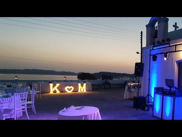 WEDDING PARTY IN MILOS ISLAND    WWW.TOPEVENTS.GR