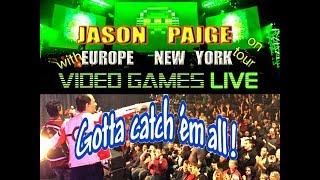 Jason Paige On Tour w  Games Live-Musical Announcement