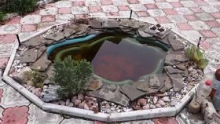 видео Как подготовить декоративный пруд к зиме: что делать с рыбами и растениями