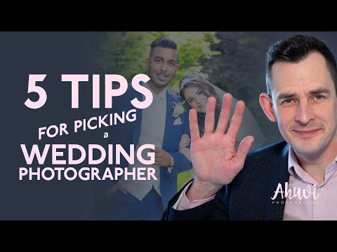 5 Tips for picking a Wedding Photographer