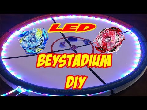 MEGA LED BEYSTADIUM DIY or Hou to make Beystadium at home