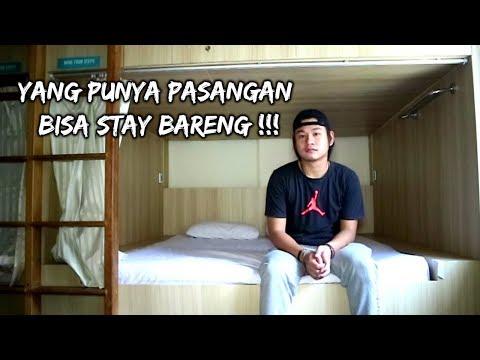 HOTEL CAPSULE YANG BISA BUAT 2 ORANG DI JAKARTA!
