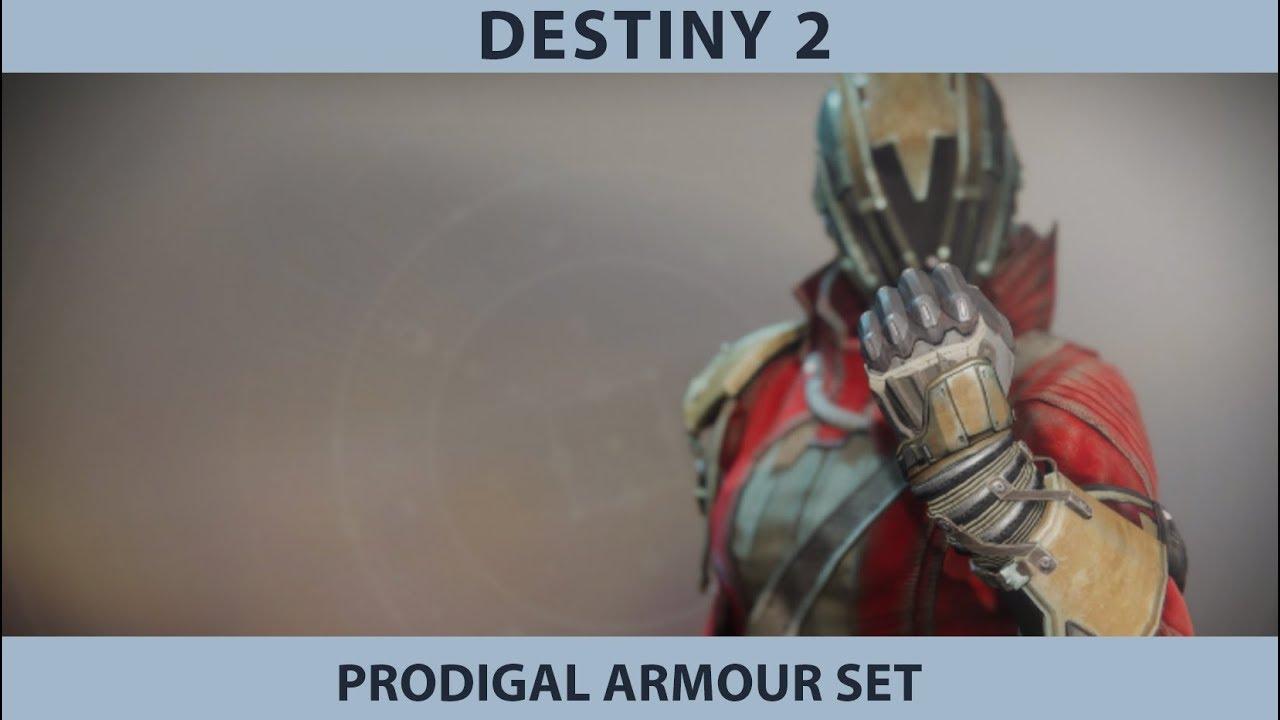 Destiny 2 Forsaken  Prodigal Armour Set - Warlock Armour