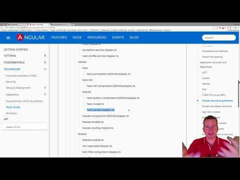 Building a Angular4+ Web App   S4P36   Adding a Customer Service